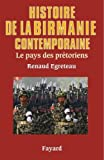 HISTOIRE DE LA BIRMANIE CONTEMPORAINE