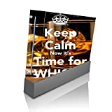 > > Decal Sticker < < Keep Calm Now it's Time For Whisky Quote Design Print Image Wii Console Vinyl Decal Sticker Skin by Trendy Accessories by Trendy Accessories