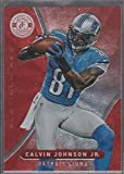 2012 Totally Certified Red Calvin Johnson Jr. Lions Football Card #39