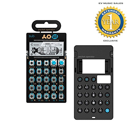 Teenage Engineering PO-14 Sub Bass Synthesizer & Silicone Case Bundle with 1 Year Free Extended Warranty by Teenage Engineering