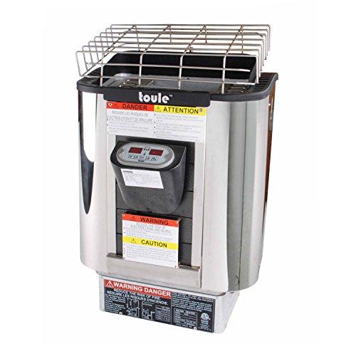 ALEKO TOULE NTSA30 Sauna Heater 3kW 240V NTS-100 Digital Controller ETL Certified for Spa Sauna Steam Room