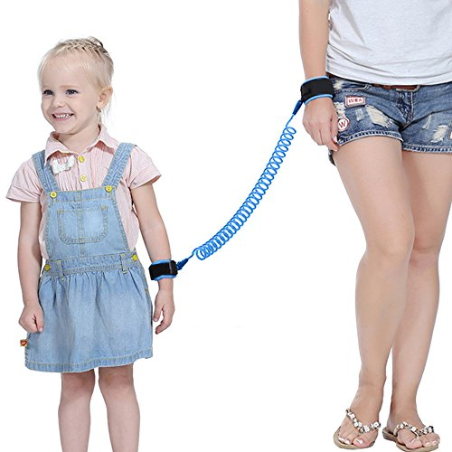 Sealive 2.5m Anti Lost Wrist Link Child Anti Lost Belt For Baby Toddler,Backpack Harness With Safety Leash Kids Wrist Link Wristband,Light Weight Walking Strap Portable For Outdoor ()
