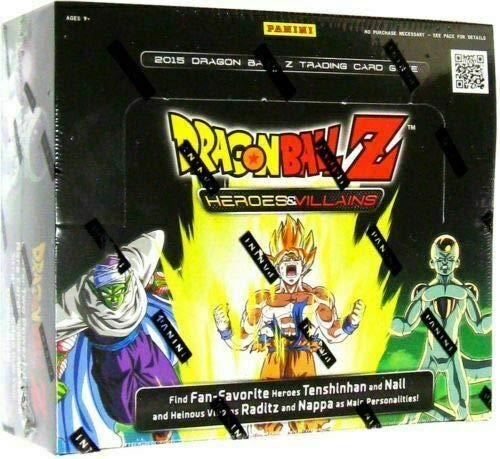 Dragon Ball Z Collectible Card Game Heroes & Villains Booster Box from Dragon Ball Z
