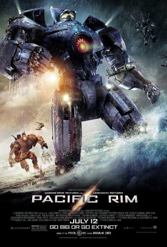 Pacific Rim Gypsy Danger Sci-Fi Movie Poster (24 x for sale  Delivered anywhere in USA