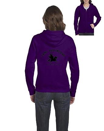 ARTIX Camp Half-Blood Cool Demigods Long Island Soundtrack Olympians Unisex Youth Kids Crewneck Sweater Clothing Small Dark Heather