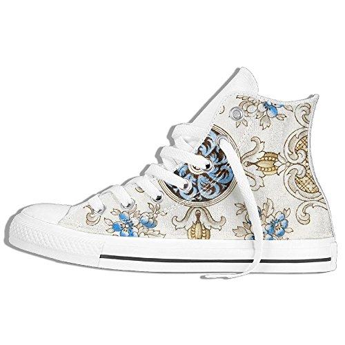 Yuyu, Una Sneaker Di Alta Qualità In Tela Decorativa Vittoriana