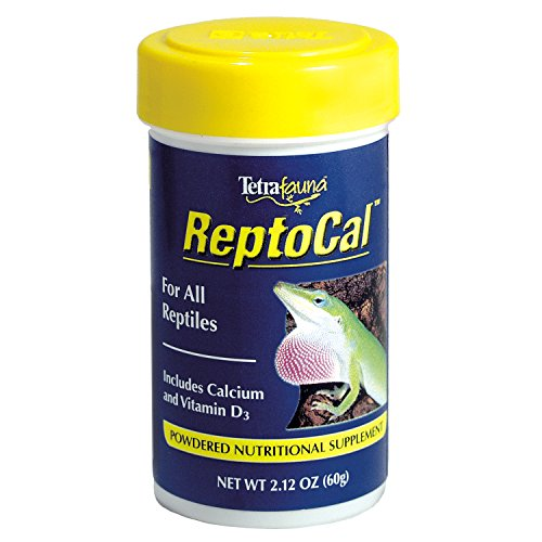 Tetra 16953 ReptoCal Calcium Supplement, 2.12-Ounce, 100-Ml (Calcium Reptile Spray)