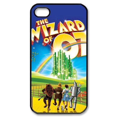 Fayruz- The Wizard of Oz Protective Hard TPU Rubber Cover Case for iPhone 4 / 4S Phone Cases A-i4K274