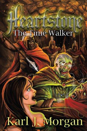 Heartstone: The Time Walker by [Morgan, Karl]