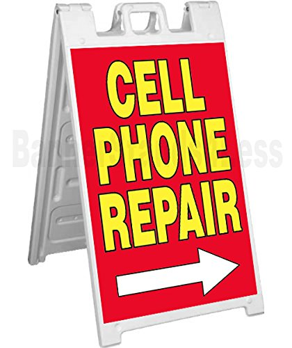 signicade-a-frame-sign-sidewalk-pavement-sign-cell-phone-repair-red