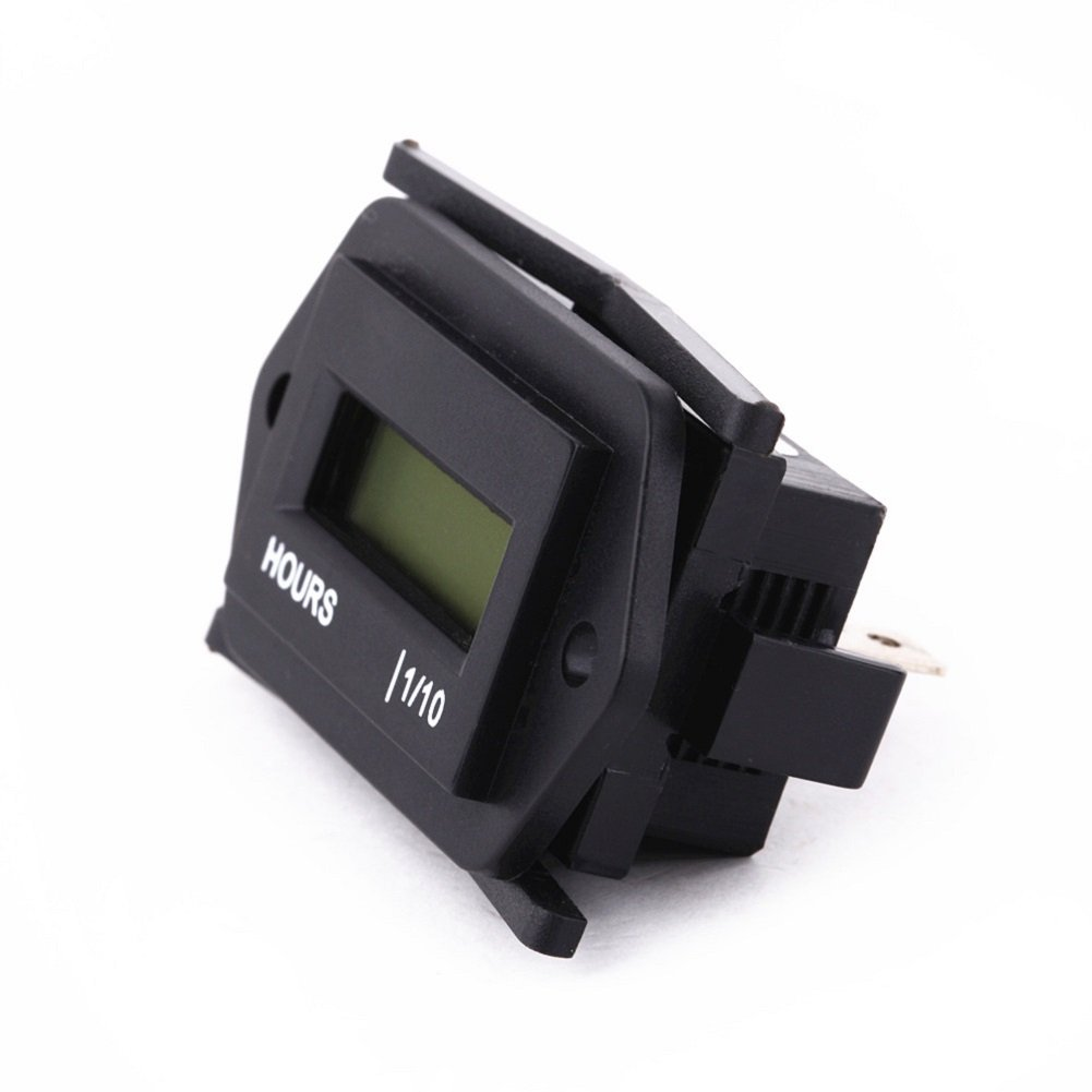 Searon 12V 24V 36V 48V Small Digital Hour Meter for Marine Boat Engine 4350402394
