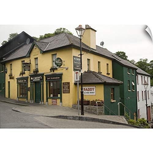 (CANVAS ON DEMAND Ireland, County Mayo, Westport. Traditional Irish Pub Wall Peel Art Print, 18