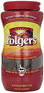 Folgers Classic Instant Coffee from Home Comforts