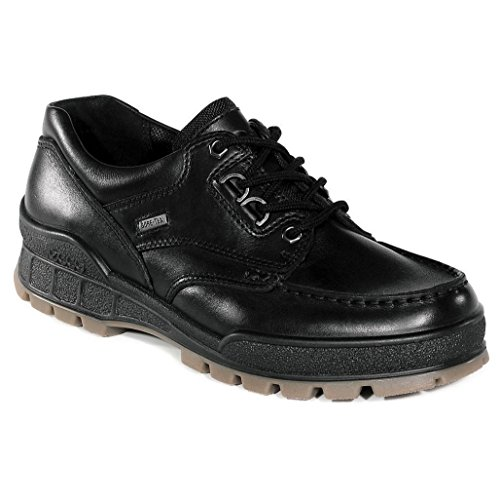 ECCO Mens Track II Low Black/Black/Black Oxford - 43 ()
