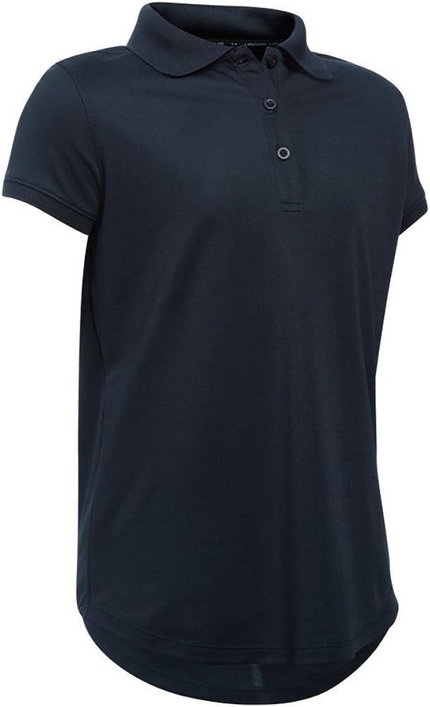 Polo UA de manga corta uniforme - Preescolar 6X GLORY BLUE: Amazon ...