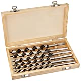 Pitbull CHIAU0600 9-Inch Auger Drill Bit Set, 6-Piece