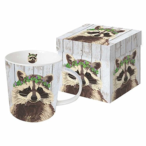 Paperproducts Design 603146 Benjamin Design by Two Can Art Gift Boxed Mug, Multicolor