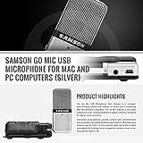 Samson Go Mic USB Microphone for Mac and PC