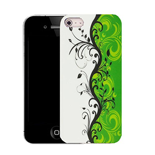 Mobile Case Mate IPhone 4s clip on Silicone Coque couverture case cover Pare-chocs + STYLET - attentive pattern (SILICON)
