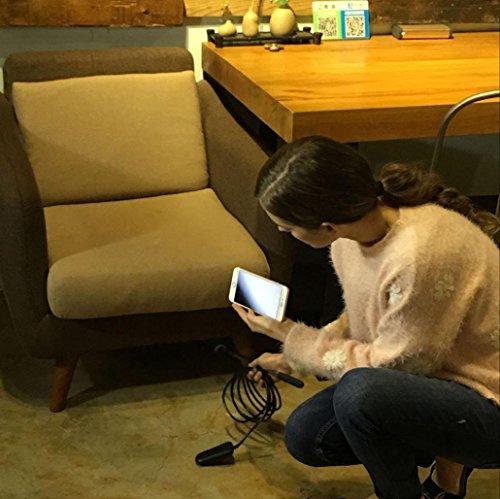 Endoscopio Wifi para iPhone Android, Magiyard Endoscopio inteligente inalámbrico de la inspección de la cámara de WIFI de la prenda impermeable HD 1080P