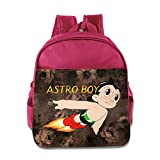 Children Astro Boy Cartoon School Bag (2 Color:Pink Blue)