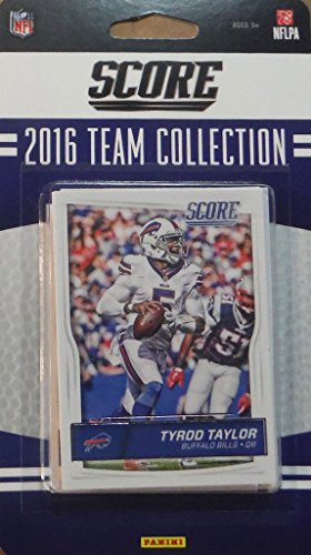 Score Buffalo - Buffalo Bills 2016 Score EXCLUSIVE Factory Sealed Team Set with Tyrod Taylor, Sammy Watkins, Shaq Lawson and Reggie Ragland Rookies plus