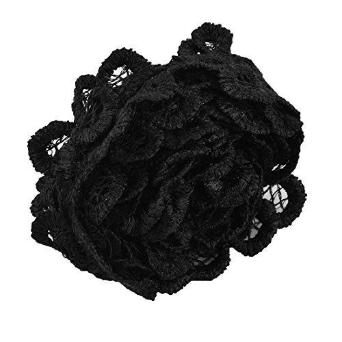 eDealMax Polyester Accueil en Forme de Fleur Robe de marie Dcor Dentelle Applique 1,6 pouces Largeur