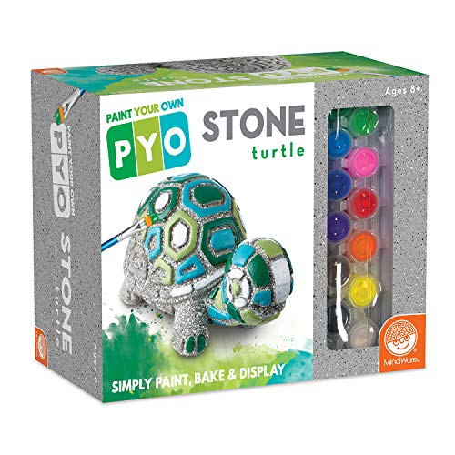 MindWare Paint Your Own Stone: Box Turtle