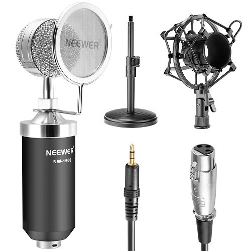 Neewer Broadcast Recording Condenser Microphone