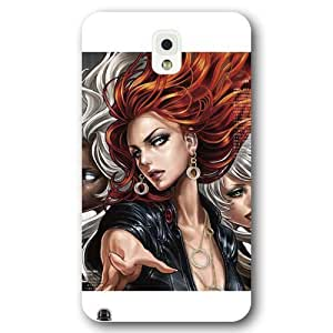 UniqueBox Customized Marvel Series Case for Samsung Galaxy Note 3, Marvel Comic Hero Black Widow Samsung Galaxy Note 3 Case, Only Fit for Samsung Galaxy Note 3 (White Frosted Case)