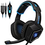 Sades L9 Stereo Gaming Headset with Microphone for PC Laptop Mac PS4 Mobile Phone