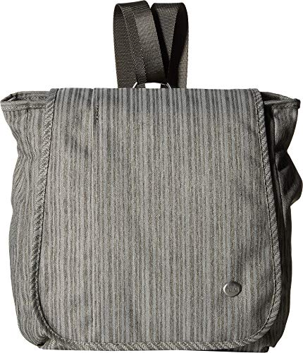 Recycled Vertical Messenger Bag - Haiku Women's Wander Gray Poplar One Size
