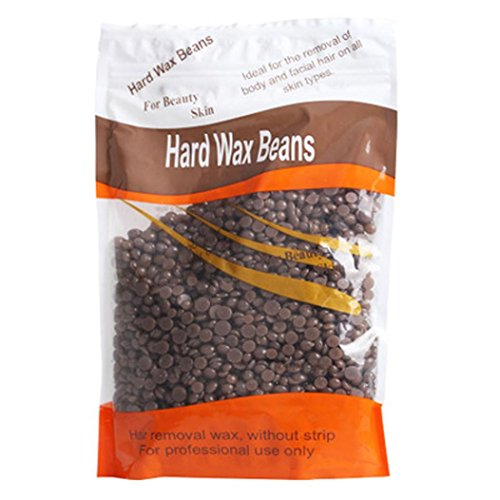 Bolayu Depilatory Wax, Hair Removal Bean, No Strip Hot Film Hard Wax Pellet Waxing (B)