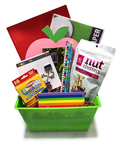 Teacher Gift - New Teacher Gift - Perfect Birthday, Appreciation, Christmas Presents - Great for Thank You Gift For Preschool, Middle, or High School Instructor (Large, Awesome to the Core) (Best Gift Baskets 2017)