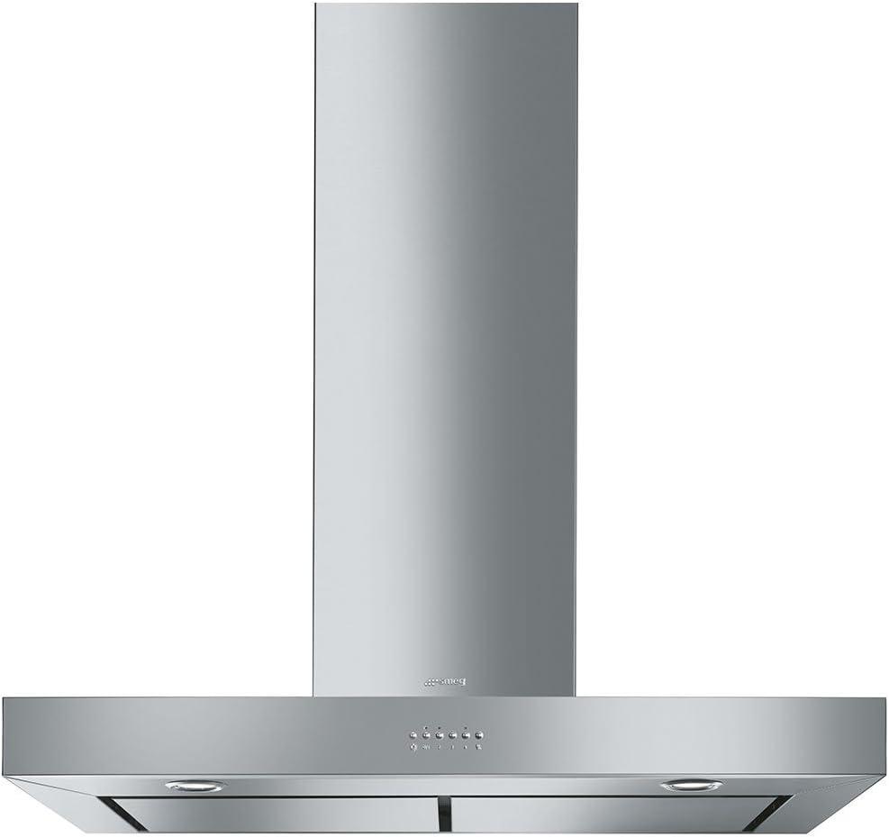 Smeg K90XE - Campana (755 m³/h, Canalizado, B, A, B, 65 dB): Amazon.es: Hogar