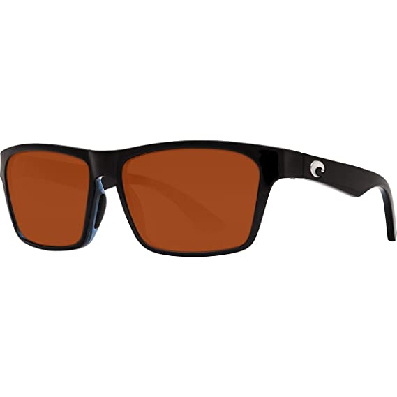 9356a3fbde New Costa Del Mar Hinano HNO 108 Shiny Black Sunglasses for Mens   Amazon.co.uk  Clothing