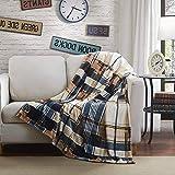 Tache Tartan Plaid Super Soft Warm Winter Cabin Throw Blanket 50