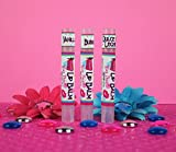 Bombshell Natural Beauty - Skinny Stick Lip Balm - Bubblegum, Dulce de Leche and Vanilla - (Pack of 3)