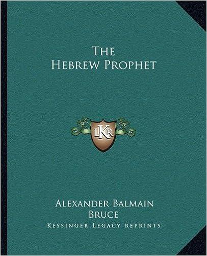 The Hebrew Prophet