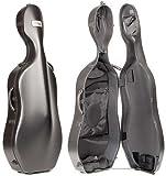 BAM Classic 1001SW Cello Case W/wheels -Black.