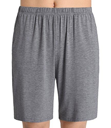 Latuza Women's Soft Sleep Pajama Shorts L Deep Gray