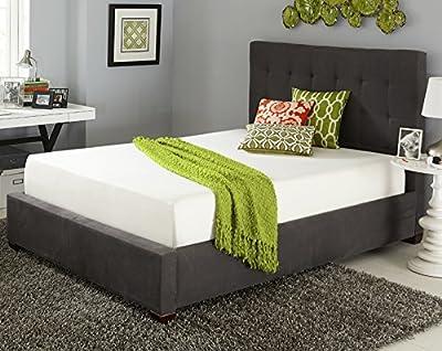Resort Sleep 10 Inch Cool Memory Foam Mattress with 20-Year Warranty, with Upgraded Bonus Memory Foam Pillow