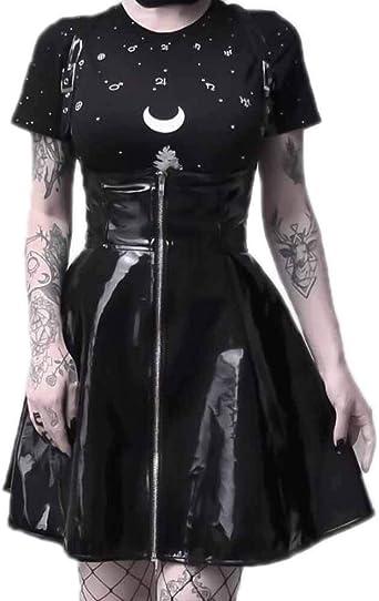 Falda Plisada de Halloween Plisada con Cintura Corta Desmontable ...