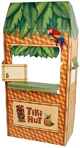 Advanced Graphics - Jungle Party Tiki Hut Cardboard Cutout Standee - 5.5' - Jungle Hut