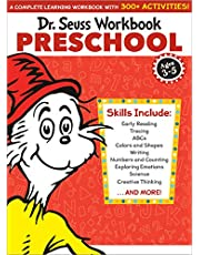 Dr. Seuss Workbook: Preschool: 300+ Fun Activities with Stickers and More! (Alphabet, ABCs, Tracing, Early Reading, Colors and Shapes, Numbers, Counting, Exploring Emotions, Science)