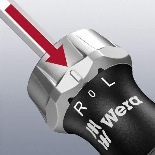 Wera Kraftform 816 RA Bitholding Ratcheting Screwdriver, 1/4'' Head by Wera (Image #3)