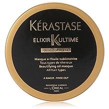 Kerastase Elixir Ultime Oleo-Complexe Beautifying Oil Masque for Unisex-2.55-Ounce