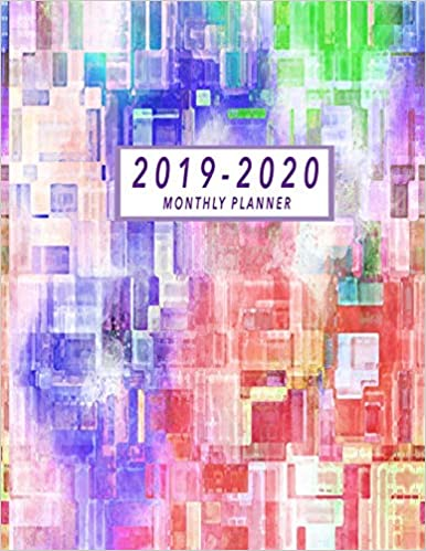 2019-2020 Monthly Planner: 24 Months Calendar | January 2019 ...