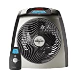 Vornado 1500 Watt Vortex Whole Room Electric Heater with Digital Touch Screen Controls & Automatic Climate Control, Built-In Automatic Safety Shutoff & Tip Over Protection, Temperature-Sensing Remote Control Included Ceramic Heaters Vornado