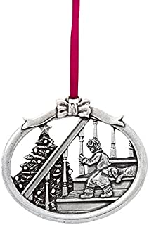 product image for DANFORTH - Magic of Christmas 2016 Annual Ornament - Pewter - 2 1/2 Inches - Satin Ribbon - Handcrafted - Made in USA